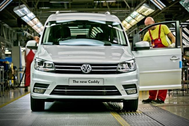 Първият Volkswagen Caddy четвърто поколение слезе от поточната линия