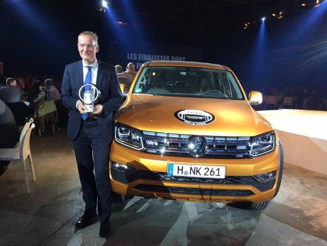 Volkswagen Amarok V6 с Международната награда за пикап 2018