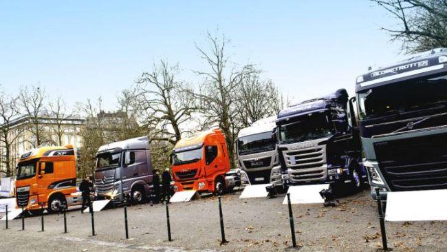 Регистрирани са 228 361 нови камиони в ЕС за полугодието