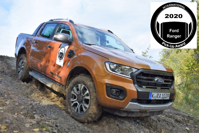 Ford Ranger печели International Pick-up Award 2020