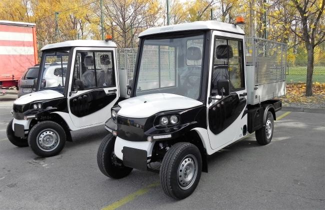 Два електрически минисамосвала MELEX за софийските паркове